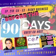 90 Day Fiance Before the 90 Days - - Risky Business - Special Guest Host Ken! by A Little Bit Of Everything With Me! Songs With A Message, 90 Day Fiance, Risky Business, Copyright Music, Video Link, Special Guest, Feel Good, Everything, Anchor