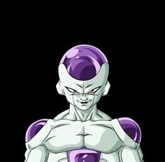 Dragon Ball Z's Freeza, a very effeminate and powerful villain.
