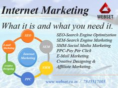 """what it is and what you need it?"" Learn completely about internet marketing ....Make it simple....Grow your Business..... #seo_training_in_chennai #best_seo_training_in_chennai Mail us:info@webset.co.in 