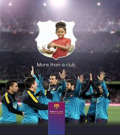 FC Barcelona stands by its values. Add the photos of its biggest fans that share those same values...  #kids #birthday #football #soccer #gift #FCBarcelona