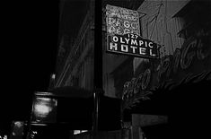 "Film noir homage, ""The Unsuspected,"" 1947, Olympic Hotel, Long Beach, California by David Lee Guss"