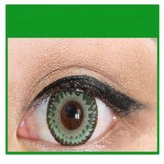 GREEN Cosmetic Coloured Contact Lenses Dodo - 1 Year (Pair)     #bestcontactlenses #awesomecontactlenses #REENCosmetic