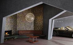 Hexagon Shape Graz provides maximum areas for car showroom by Hiroshi Nakamura&NAP