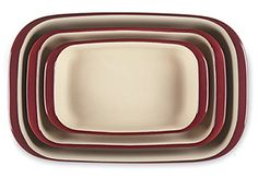 Awesome Rectangular Baker set from Pampered Chef!