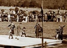 Highland Games Dancing Scotland Victorian photo #3344