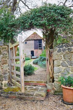 "[i]The rear of a converted bothy in the garden.[/i]  Like this? Then you'll love  [link url=""http://www.houseandgarden.co.uk/interiors/english-country-cottages""]English country cottages[/link]"