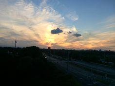 Feierabend Himmel in Mannheim