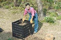 Create your own compost pile. What to add and what to avoid. http://www.epa.gov/osw/conserve/rrr/composting/by_compost.htm