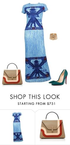 """""""Egypt"""" by dollyrockerx3 ❤ liked on Polyvore featuring Jean-Paul Gaultier and Cartier"""