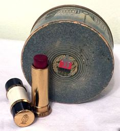 Sealed Soleil D'Or tinted face powder & Coty 24/Medium 51 lipstick Makeup History, Face Powder, Lipstick, Medium, Vintage, Beautiful, Lipsticks, Vintage Comics, Medium Long Hairstyles