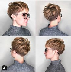 Hair to fall in love with? We show 10 sexy looks for short hair! kurze haare pixie Hair to fall in love with? We show 10 sexy looks for short hair! Long Face Hairstyles, Pixie Hairstyles, Pixie Haircut, Trendy Hairstyles, Straight Hairstyles, Glasses Hairstyles, Fashion Hairstyles, Cut My Hair, New Hair