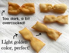 Mystery Lovers' Kitchen: How to Make ANGEL WINGS aka ITALIAN BOW TIE COOKIES by Cleo Coyle #ChristmasCookies