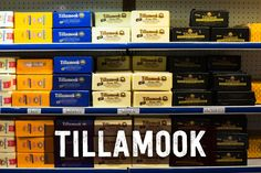 Friday evening: Come to the Tillamook Cheese Factory and take a self guided tour, aka eat a ton of samples of cheese. Their famous loaf is available in all their flavors. This is the time to bulk up. Oregon Road Trip, State Of Oregon, Central Oregon, Oregon Travel, Oregon Coast, Travel Usa, Oregon Vacation, Tillamook Oregon, Tillamook Cheese
