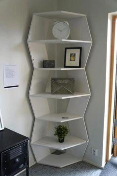 ZIG ZAG modular bookshelf (design by Aziz Sariyer) is in Finland now, by Tiinanhuone