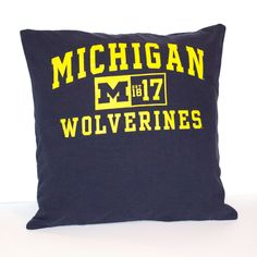 Michigan Wolverines Pillow