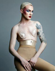 Pearl for ELLE magazine  Photo: Standa Merhout Makeup: Renee Garnes   - ELLE.com