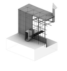 3D Axon : Shelter for Roman Ruins, Chur Switzerland | Peter Zumthor | Carson Russell