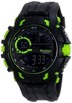 cool Men's 40/8335LGN Lime Green Accented Digital Chronograph Black Resin Strap Watch - For Sale Check more at http://shipperscentral.com/wp/product/mens-408335lgn-lime-green-accented-digital-chronograph-black-resin-strap-watch-for-sale/