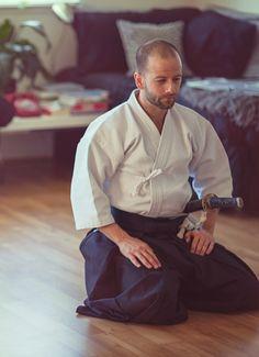 Afternoon Iaido. Seiza waza. Muso Jikiden Eishin Ryu