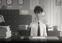 A CUP OF JO: Paperman- Loved this short animated film