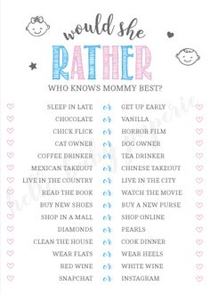 Pink and Blue Baby Shower, Gender Reveal Baby Shower Printables, Baby Shower Ide. - Pink and Blue Baby Shower, Gender Reveal Baby Shower Printables, Baby Shower Ideas – Mommy To Be - Gender Reveal Party Games, Baby Shower Gender Reveal, Reveal Parties, Simple Gender Reveal, Gender Party, Gender Reveal For Twins, Baby Reveal Party Ideas, Gender Reveal Decorations Diy, Baby Shower Twins