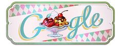 Ice Cream Sundae ~ Google Doodle