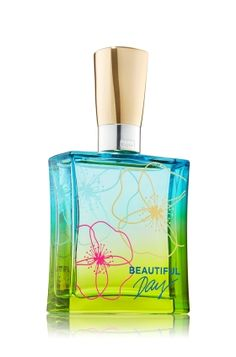 Beautiful Day is a fragrance as beautiful as the perfect spring day with sun-kissed apple, wild daisies & fresh pink peonies