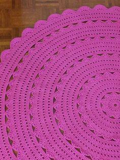... Práctico Crafter ...: alfombra pañito