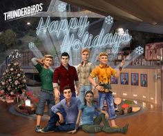 Official Thunderbirds Are Go - Happy Holidays from all at International Rescue! サンダーバード Are Go, Thunderbirds Are Go, Tracy Anderson, Marionette, My Childhood, Happy Holidays, Movie Tv, Actors, Entertainment