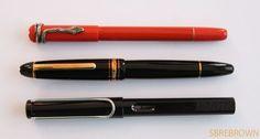 Montblanc Rouge et Noir Coral Fountain Pen Review