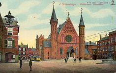 Trams, 's-Gravenhage Binnenhof 1916 - In Oude Ansichten