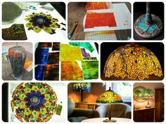 Wieniawa Piasecki lamp crafting process, inspired by L.C. Tiffany Lamp #tiffany #lamp www.e-witraze.pl #manmade #stainedglass #handcrafted #unique #metalware #louis #comfort #glass #flower #flowers  #tablelamp www.e-witraze.pl #poland #design #art #light #interior #beautiful