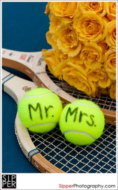 Love this but wth mr and mrs golf balls :)
