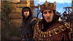 The Witcher 2 : Assassin of Kings - King Foltest of Temeria and his men