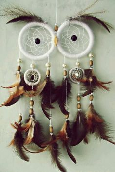 Well I'm just kind of obsessed with this... owl dream catcher!