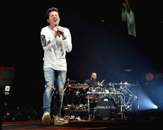 Charlie Puth Photos - Charlie Puth performs in concert at Barclays Center of Brooklyn on August 16, 2017 in the Brooklyn borough of New York City. - Shawn Mendes Performs With Charlie Puth in Concert - Brooklyn, New York
