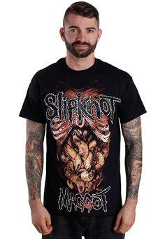 Slipknot - We're All Maggots - T-Shirt - Official NU Metal Merchandise Online Shop - Impericon.com