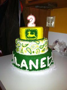 Girls John Deere Birthday Cake by Denise McAllister Baking and