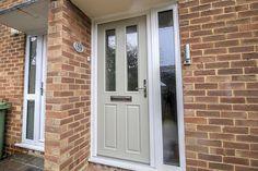 Apeer Composite Front Door in Pebble Grey, Binfield, Bracknell, Berkshire - Thames Valley Windows