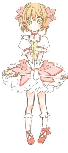 Cardcaptor Sakura | CLAMP | Madhouse / Mahou Shoujo Madoka Magica Crossover / Kinomoto Sakura / 「らくがき詰め2」/「rうい」の漫画 [pixiv] [16]