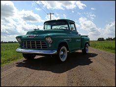 1955 Chevrolet 3100 Pickup 350/300 HP, 4-Speed  #Mecum #Dallas