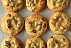 This post is about explaining which ingredients to use and giving you clear and concise instructions so that your cookies are the best American bakery-style chocolate chip cookies too! American Chocolate Chip Cookies, Soft Chocolate Chip Cookies, Make Brown Sugar, Baking Bad, American Cookie, Frozen Cookies, Big Cookie, Perfect Food, Recipes