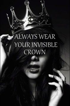 Because I am a true Princess. A daughter of the most High God.