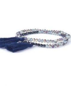Idée cadeau- Bracelet swarovski bleu