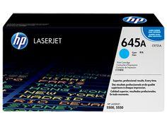 Muc In Hp 645A Cyan Laserjet Toner Cartridge , Mực in HP 645A Cyan LaserJet Toner Cartridge