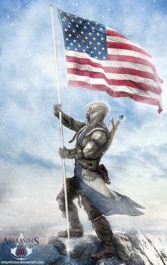 Connor Kenway -Assassin's Creed III by Aranict.deviantart.com on @DeviantArt