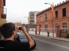 Catalan_Wikipedian_taking_a_photo_during_Wiki_Takes_Palafrugell_2012.JPG 4.288×3.216 pixels