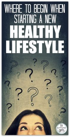 A reader has questions about how to start a healthy lifestyle. And we? We have answers!