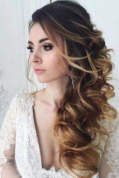 36 Stunning Half Up Half Down Wedding Hairstyles More #weddinghairstyles