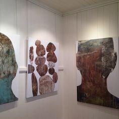 #percolatorgallery #art #exhibition #ngaiolenz #brisbane #brisbaneart  #abstract #painting
